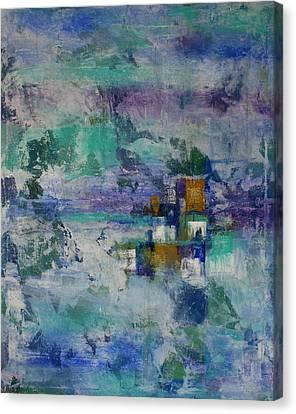 Multi-dimensional Portals Canvas Print by Alma Yamazaki
