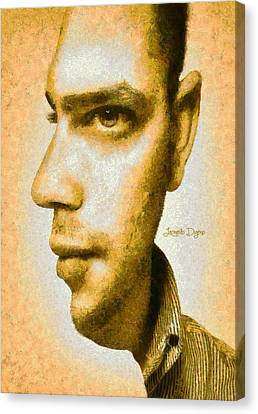 Multi Face Canvas Print by Leonardo Digenio