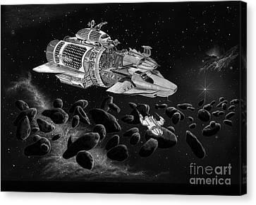 Multi Spacecraft Canvas Print
