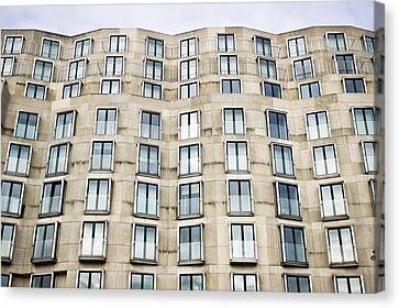 Ledge Canvas Print - Multi-storey Building by Tom Gowanlock