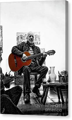 Multi-talented Artist Canvas Print by Al Bourassa