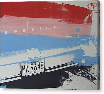 Multicolor Fender Canvas Print by David Studwell