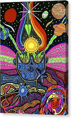 Multidimensional Being Canvas Print