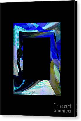 Multidimension Canvas Print by Thibault Toussaint