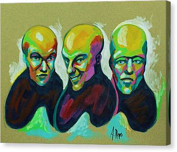 Multiple Personality Canvas Print