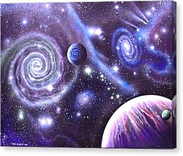 mULTIVERSE 219 Canvas Print by Sam Del Russi