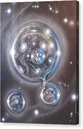 mULTIVERSE 228 Canvas Print by Sam Del Russi