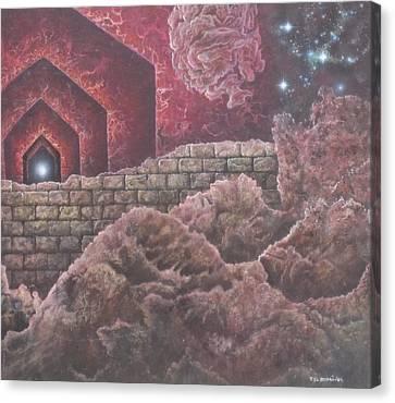 Multiverse 585 Canvas Print by Sam Del Russi
