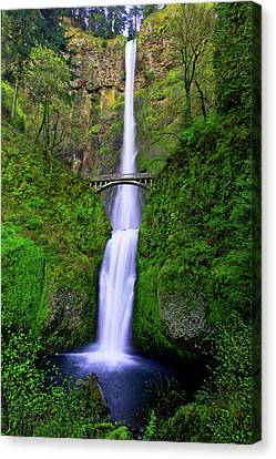 Riverscape Canvas Print - Multnomah Dream by Chad Dutson