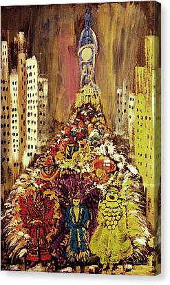 Mummers Canvas Print