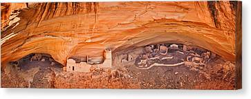 Mummy Cave Ruin - Canyon De Chelly National Monument Photograph Canvas Print by Duane Miller