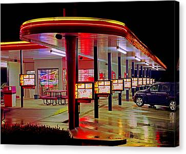 Munfordville Sonic Drive-in Canvas Print