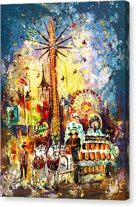 Munich Authentic Madness Canvas Print by Miki De Goodaboom