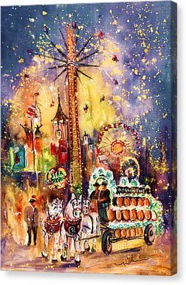 Munich Authentic Canvas Print