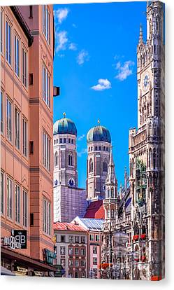 Munich Center Canvas Print