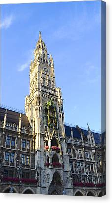 Munich Marienplatz Canvas Print by Corinne Rhode