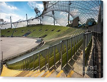 Munich - Olympic Stadium Canvas Print
