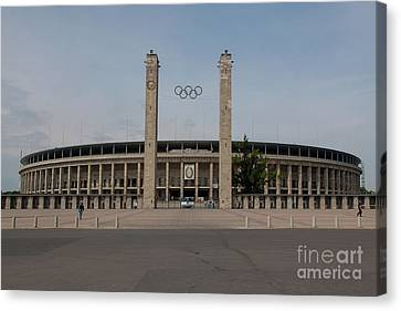 Berlin Olympic Stadium Canvas Print by Nichola Denny