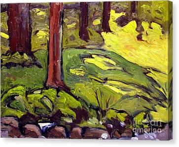 Munters Woods Framed Plein Air Canvas Print