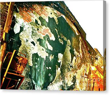 Mural Of Destruction Canvas Print by Chuck Taylor