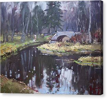 Murder Creek Ny Canvas Print by Ylli Haruni