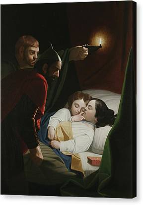 Murder Of The Princes Canvas Print