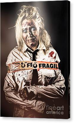 Murderer Caught At The Scene Of The Crime Canvas Print by Jorgo Photography - Wall Art Gallery