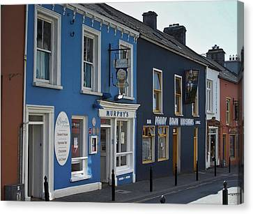 Murphys Ice Cream Dingle Ireland Canvas Print by Teresa Mucha
