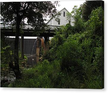 Murray's Mill Canvas Print by MW Robbins