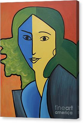 Muse For Matisse Canvas Print by Barbara McMahon