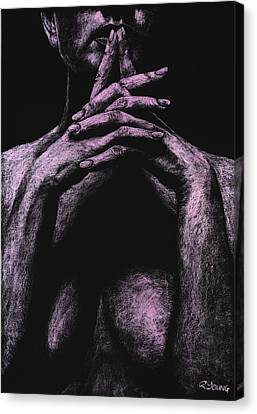 Semi-nude Canvas Print - Museful by Richard Young