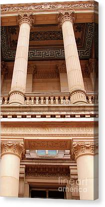 Museum And Art Gallery Entrance Canvas Print by Stephen Melia