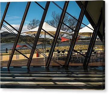 Canvas Print - Museum Of Australia Window - Canberra - Australia by Steven Ralser