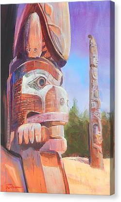 Museum Of Man Canvas Print by Ron Wilson