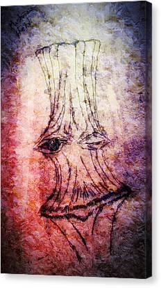 Mushroom King  O Shrooms Canvas Print