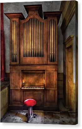 Music - Organist - What A Big Organ You Have  Canvas Print