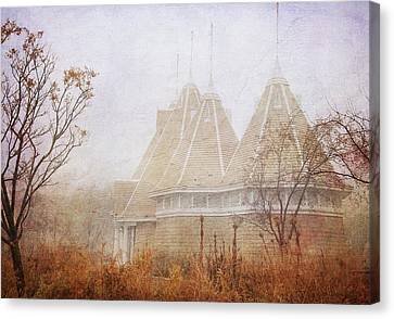 Canvas Print featuring the photograph Music And Fog by Heidi Hermes