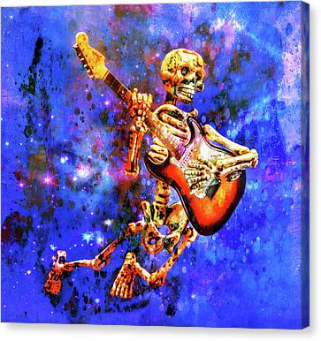 Canvas Print featuring the photograph Music In The Air by Jeff Gettis