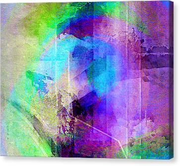 Abstract Art On Canvas Print - Music In The Forest - Abstract Art by Jaison Cianelli