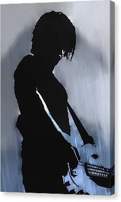 Music Man  Canvas Print by Randy Steele