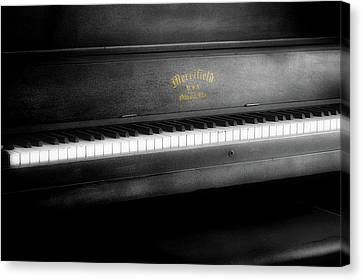 Music Merrifield Vintage Piano Canvas Print