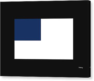 Canvas Print featuring the digital art Music Notes 14 by David Bridburg