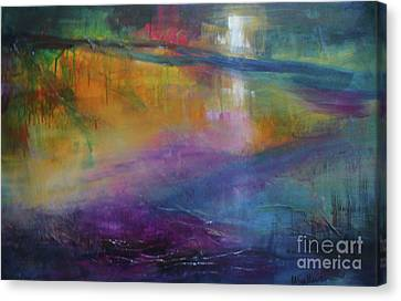 Music Of The Night Canvas Print