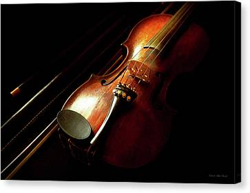 Music - Violin - The Classics Canvas Print by Mike Savad