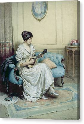 Musical Interlude Canvas Print by William Kay Blacklock