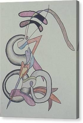 Musical Serpants Canvas Print by Peter Shor