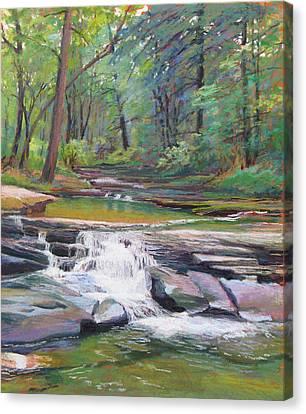 Musical Waters Canvas Print by Marsha Savage