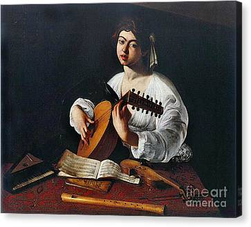 Musician 1600 Canvas Print by Padre Art