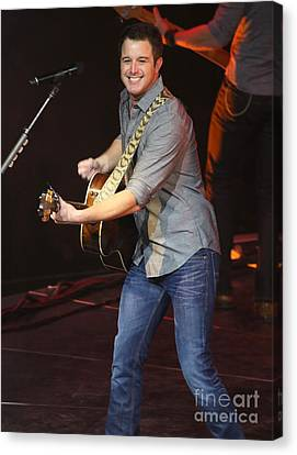 Musician Easton Corbin Canvas Print by Concert Photos