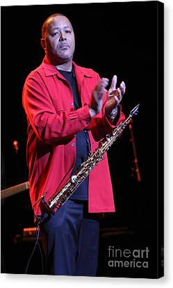 Musician Najee Canvas Print by Concert Photos